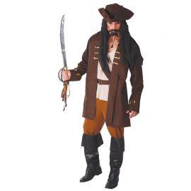 Costume da Capitan Pirata per Uomo con Cintura