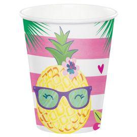 8 Bicchieri Tropicali 266 ml