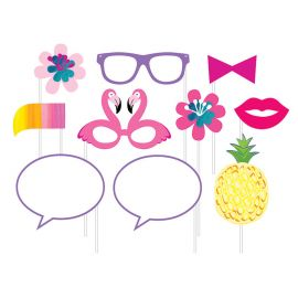10 Accessori Tropicali per Photo Booth