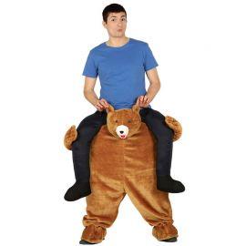 Costume da Orso Let Me Go per Uomo Marrone