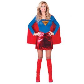 Costume da Superwoman per Donna con Mantello