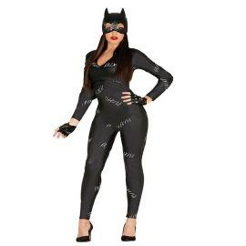 Costume da Catwoman Per Donna con Tuta Nera