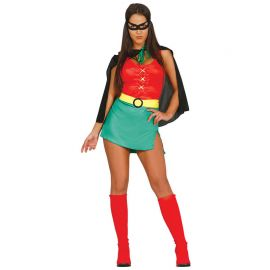 Costume da Green Power Robin per Donna