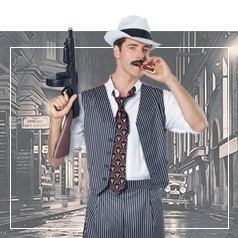 Costumi Gangster Adulto