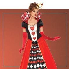 Costumi Regina di Cuori per Adulto