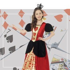 Costumi Regina di Cuori Bambina