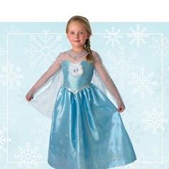 Costumi Elsa Frozen Bimba