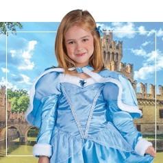 Costumi Cenerentola per Bambina
