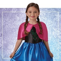 Vestiti Anna Frozen Bambina