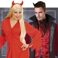 Costumi Diavolo e Diavoletta