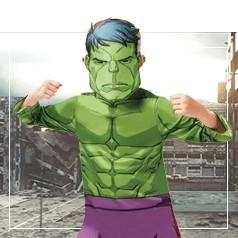 Costumi Hulk Bambino