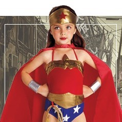 Costumi Wonder Woman Bambina