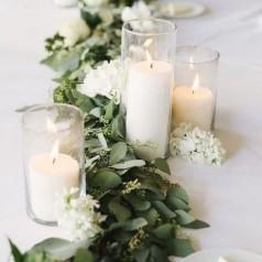 Addobbi Tavoli per 25 Anni di Matrimonio