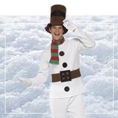 Costumi Pupazzo di Neve Adulti