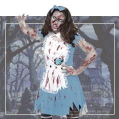 Costumi Alice nel Paese delle Meraviglie Halloween