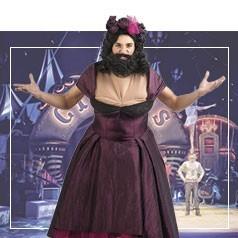Costume Donna Barbuta