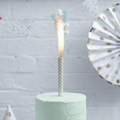 Candele Scintillanti per Torte
