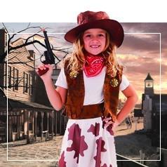 Costumi Western Bambina