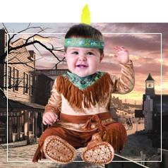 Costumi da Indiano Neonato