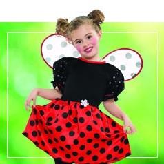 Costumi Coccinella Bambina