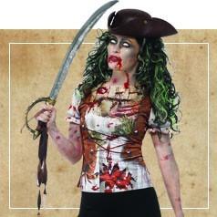 Costumi Pirata Zombie