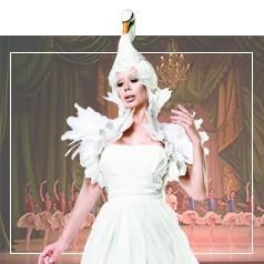 Costumi Cigno Bianco