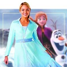 Costumi Elsa Frozen Donna