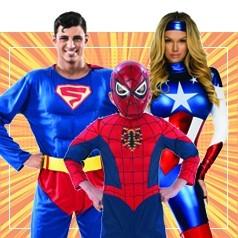 Costumi da Supereroi per la Famiglia
