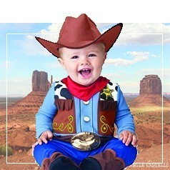 Costumi Western Neonato