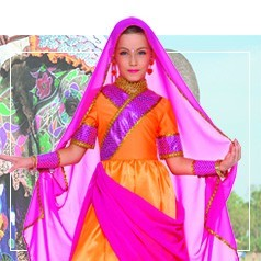 Costumi Paesi e Culture Bambina