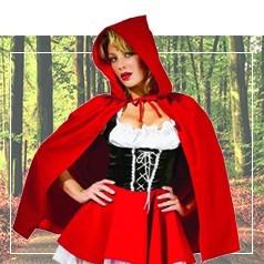 Costumi Cappuccetto Rosso Donna