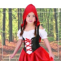 Costumi Cappuccetto Rosso Bambina