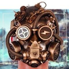 Maschere Steampunk