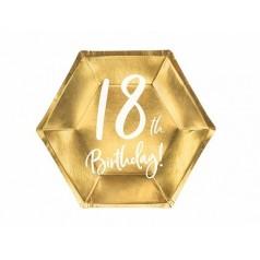 Compleanno 18 Oro