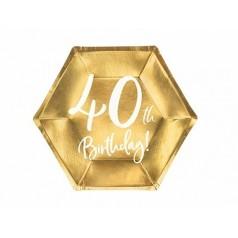 Compleanno 40 Oro