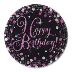 Compleanno Elegant Pink