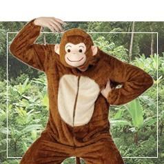 Costumi Scimmia
