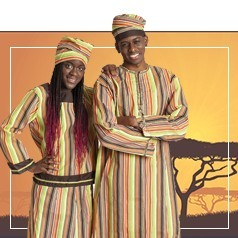 Vestiti Tribù Africane