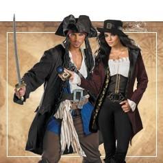 Costumi Pirati dei Caraibi