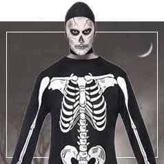 Costume Scheletro Uomo