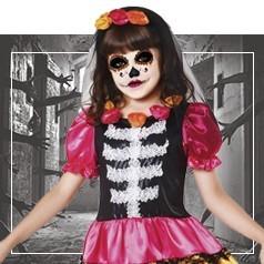 Costumi Catrina Bambina