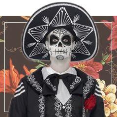 Costumi Teschio Messicano Uomo