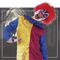 Costumi Pagliaccio Assassino Bambino