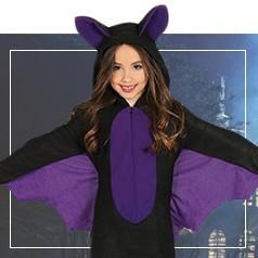 Costumi Pipistrello Bambina