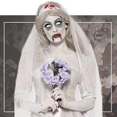 Vestiti Sposa Cadavere Donna
