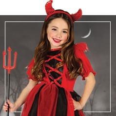 Costumi Diavoletta Bambina