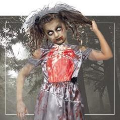Vestiti Zombie Bambina