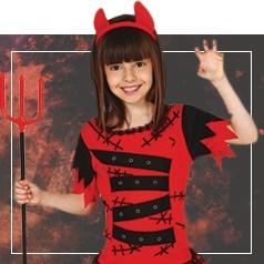 Costumi Demone Bambina
