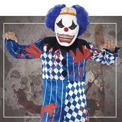 Costumi Clown Horror Bambino