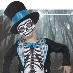 Costumi Teschio Messicano Bambino